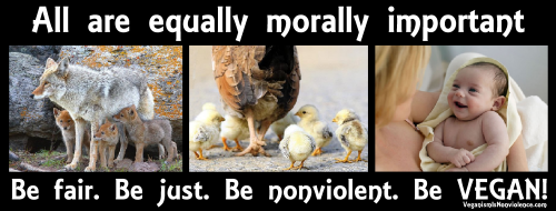 no difference in moral value