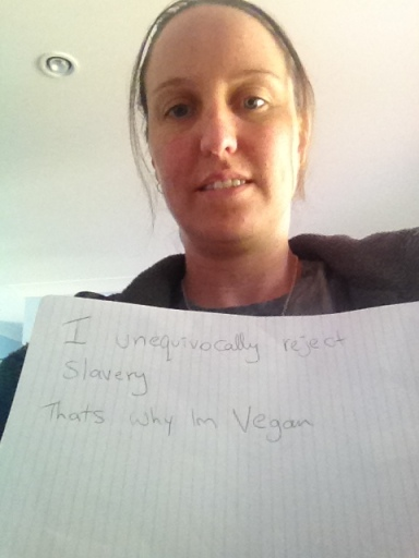 "Amy: ""I unequivocally reject slavery, that's why I'm vegan"""