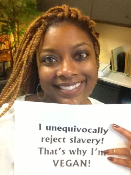 "Coree : ""I unequivocally reject slavery that's why I'm vegan"""