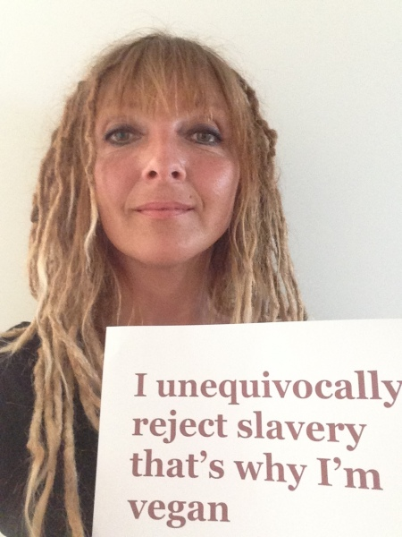 "Elin: ""I unequivocally reject slavery that's why I'm vegan"""