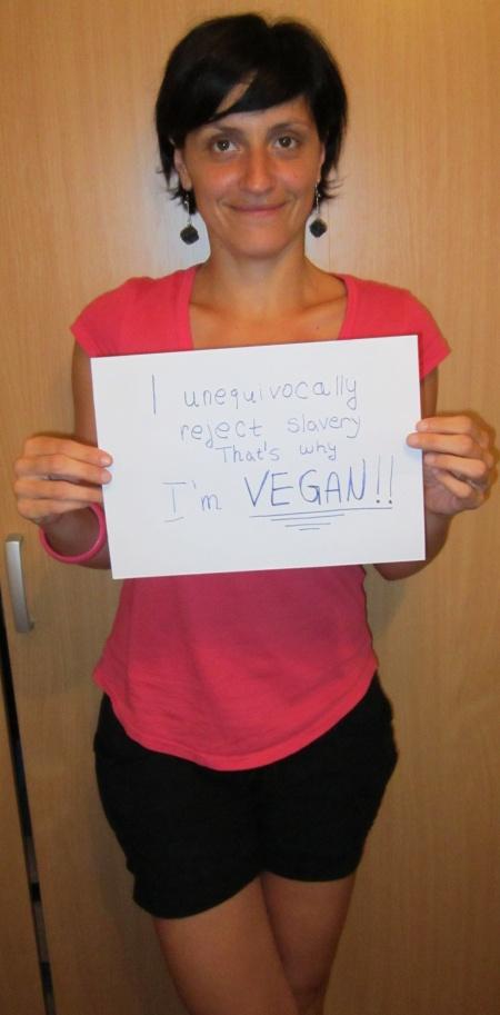 "Milja: ""I unequivocally reject slavery, that's why I'm vegan"""