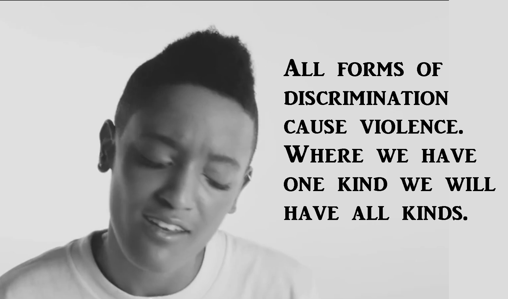 veganism is nonviolence syd tha kid
