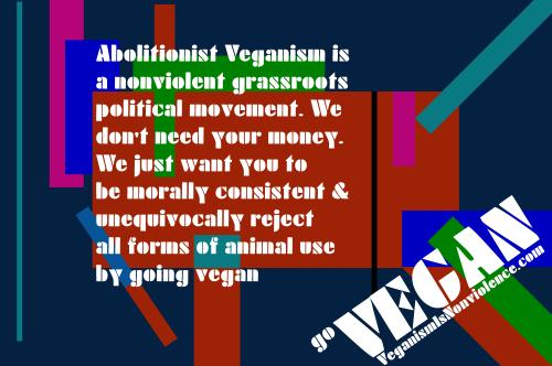 Abolitionist veganism