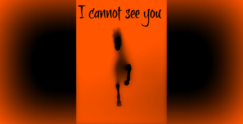 I cannot see you 1